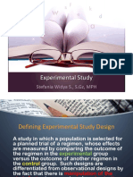 Experimental Study