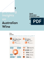 Small Winemaker Production and Sales Survey 2017 Australia