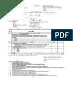 3. Form DUPAK-Lampiran II
