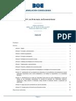 R.D.L 1-2013 Ley General de Derechos de las Personas con Discapacidad y de su Inclusión Social