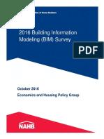 2016 BIM Survey Results