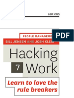 Hacking Work, Learn to Love the Rule Breakers