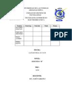 Informe 2 exposicion