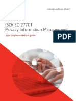 ISO 27701 Implementation Guide ES En