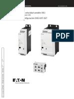 Manual arrancador de velocidad variable DE1.pdf