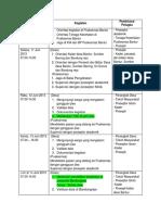 Schedule Cmhn Jiwa Bantur Klp 2