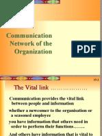 Communication Network of an Organization