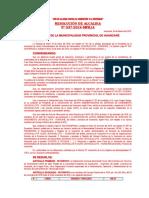 Resoluciones de Alcaldia Mph Febrero 2019 Membretado
