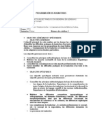 Programme Uem 3TCI- 2010