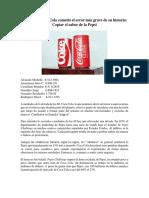Etica Final CocaCola