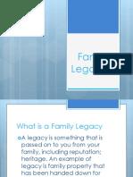 Family Legacies