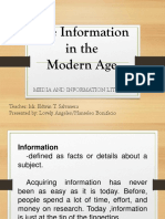 The Information in the modern age.pptx