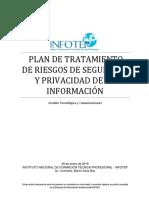 PA GTC DS 004 Plan de Tratamiento de Riesgos de Seguridad y Privacidad de La Informacin