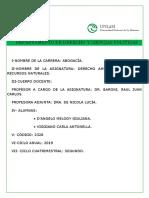 Trabajo Practico Ambiental - Ciencia Tecnologia e Innovación -