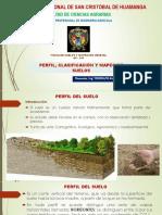 perfil clasificacion del suelo