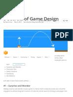 Secrets of Game Design