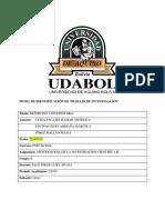 DESERCION UDABOL 2019