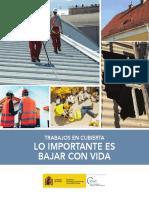 Folleto Trabajos en Cubiertas Campaña - Año 2019