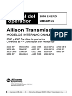 Caja Allison Manual Operacion Serie 3000 4000