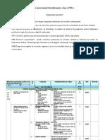 Proiectarea Tematica Cl VIII