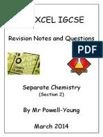 Excel chemistry