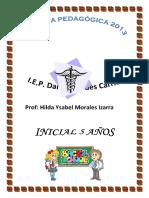 Carpeta Técnico Pedagógica 2013