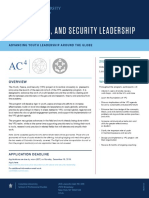 Youth Peace and Security Leadership Flyer2020