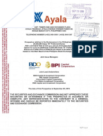 Ayala Corp Class B Preferred Shares - Preliminary Prospectus