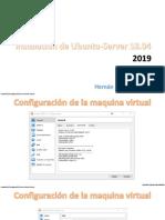 5. Manual Ubuntu Server