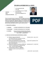 CV. Wilson Sánchez de La Cruz