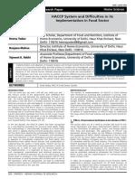 HACCP Paper