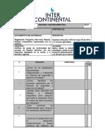 DOCUMENTO de APOYO Ejemplo - Listado de Verificación