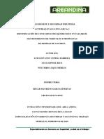 Taller Eje No 4. Higiene y Seguridad Industrial 04.02.2019