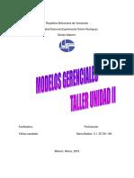 Taller de Modelos Administrativos