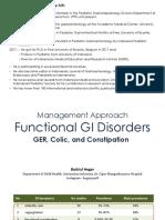 Fungsional GI Disorders