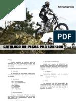 AJP MOTOS - Lista de Peças PR3 125/200
