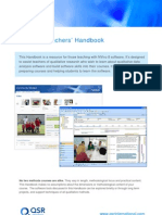NVivo8 Teachers Handbook