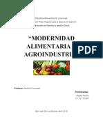 modernidad alimentaria