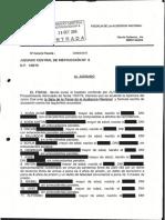 Escrit d'acusació de la Fiscalia de l'Audiència Nacional