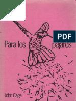 Cage, John - Para los pájaros. Conversaciones con Daniel Charles.pdf