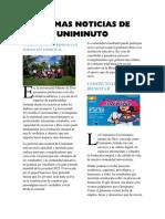Ultimas Noticias de Uniminuto