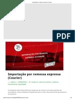 Importação por remessa expressa (Courier)