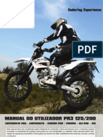 AJP MOTOS -  PR3 Manual Utilizador