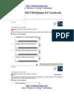 Marketing MGT301 Quiz