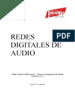 REDES DIGITALES DE AUDIO