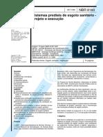 ABNT NBR 8160-1999