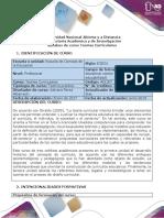 Syllabus Del Curso Teorías Curriculares (1)