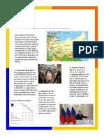 Infografia de Rusia