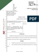 Scorpion lawsuit document