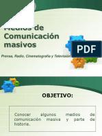 PPT medios de comunicación